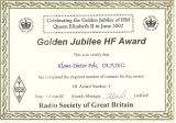 GGolden Jubilee HF Award
