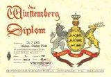 Würtemberg Diplom